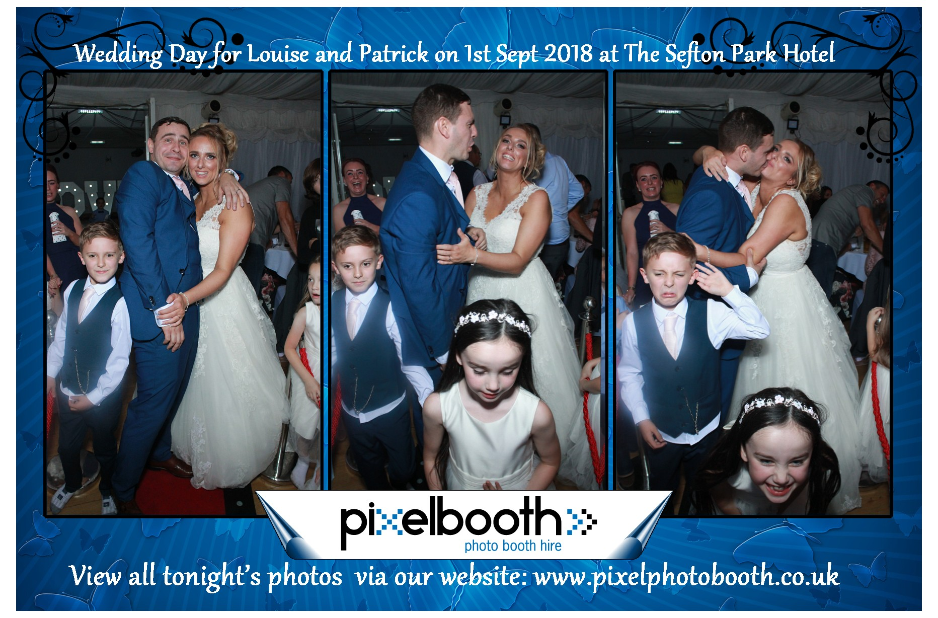1st Sept 2018: Louise & Patrick's Wedding at The Sefton Park Hotel