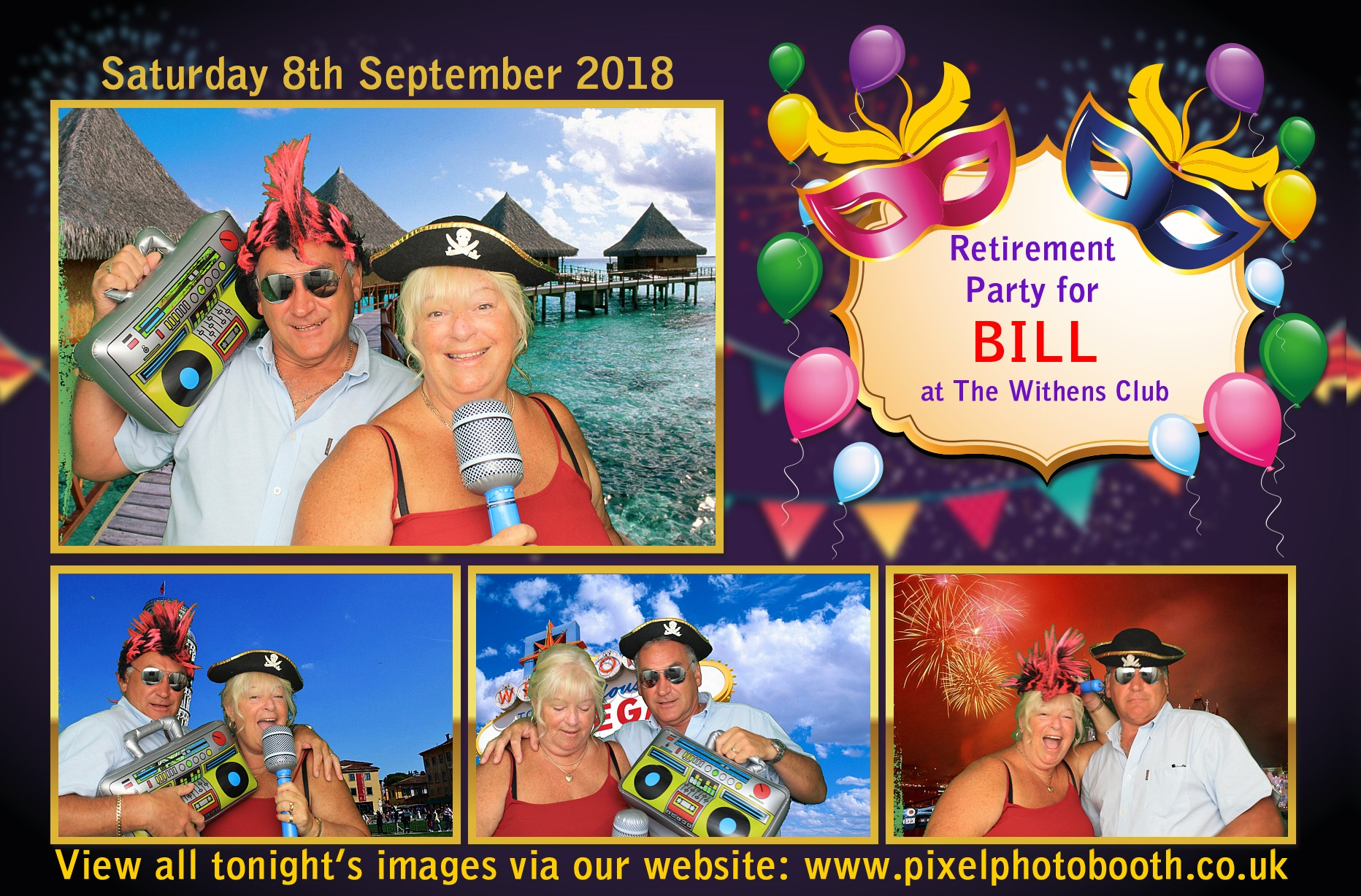 8th Sept 2018: Bill's Retirement Party at The Withens Club