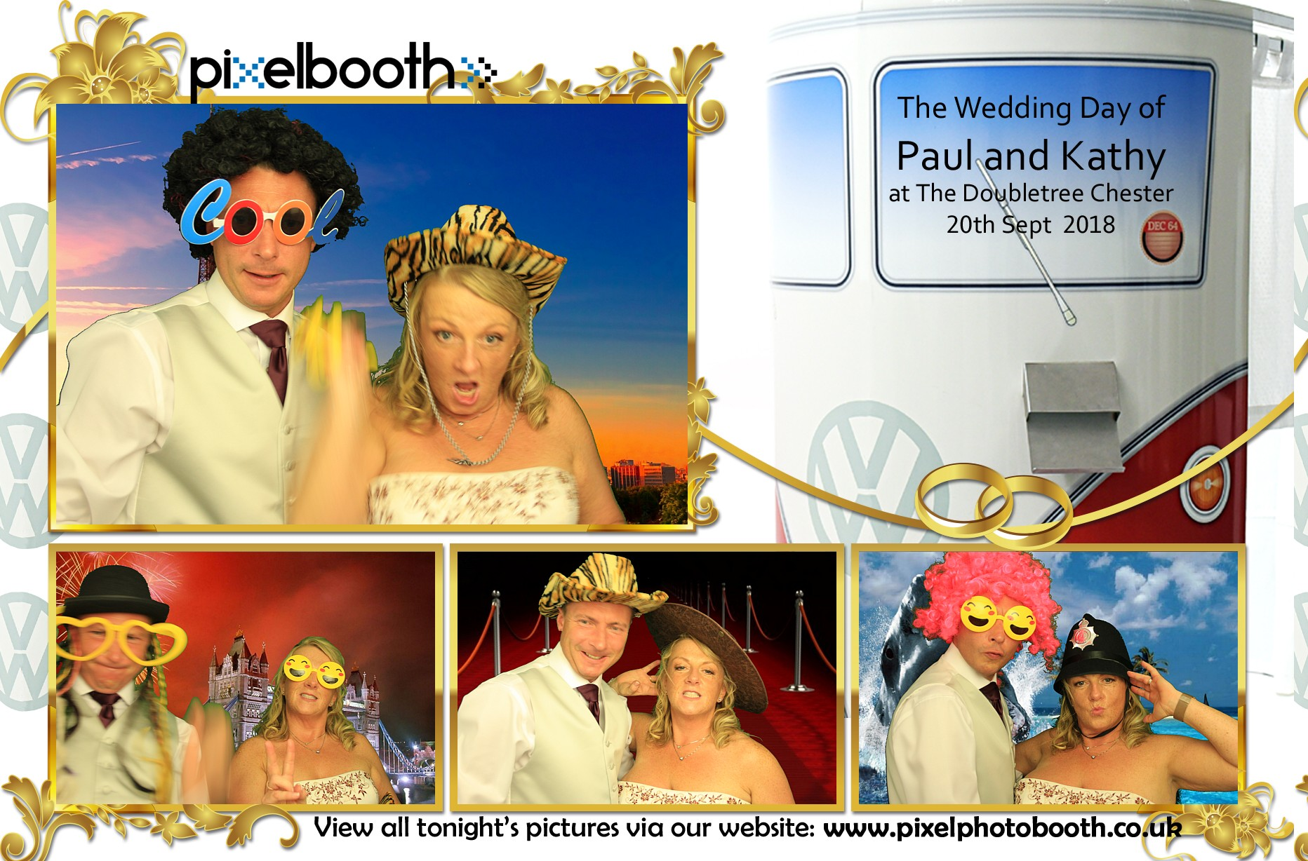 20th Sept 2018: Paul and Kathy's Wedding at The Doubletree Chester