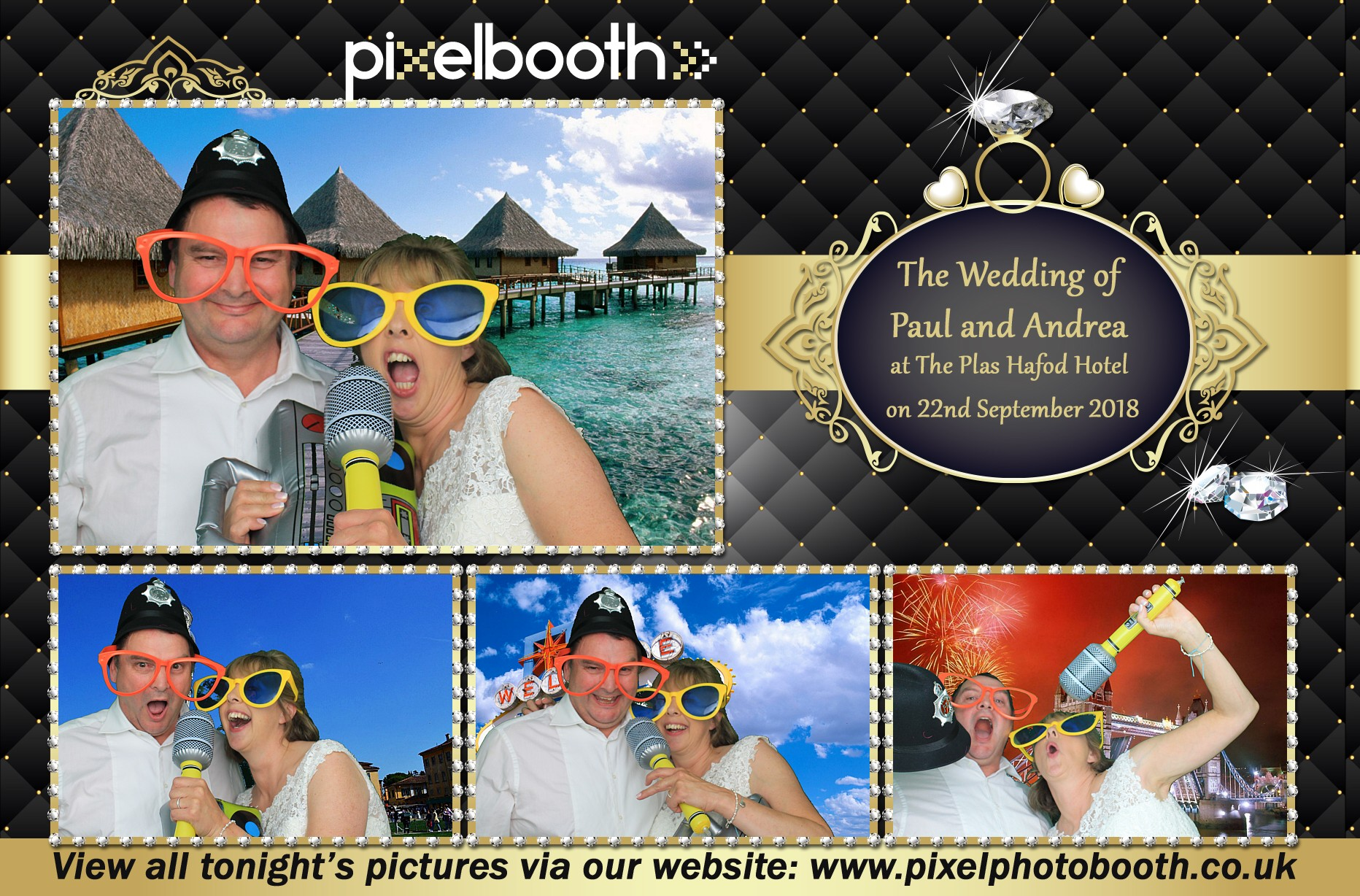 22nd Sept 2018: Paul and Andrea's Wedding at The Plas Hafod Hotel