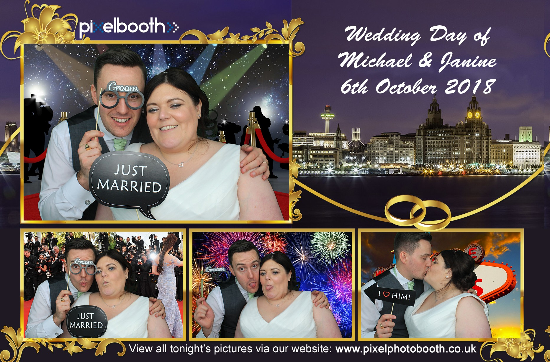 6th Oct 2018: Michael and Janine's Wedding at Oak Tree, Knutsford