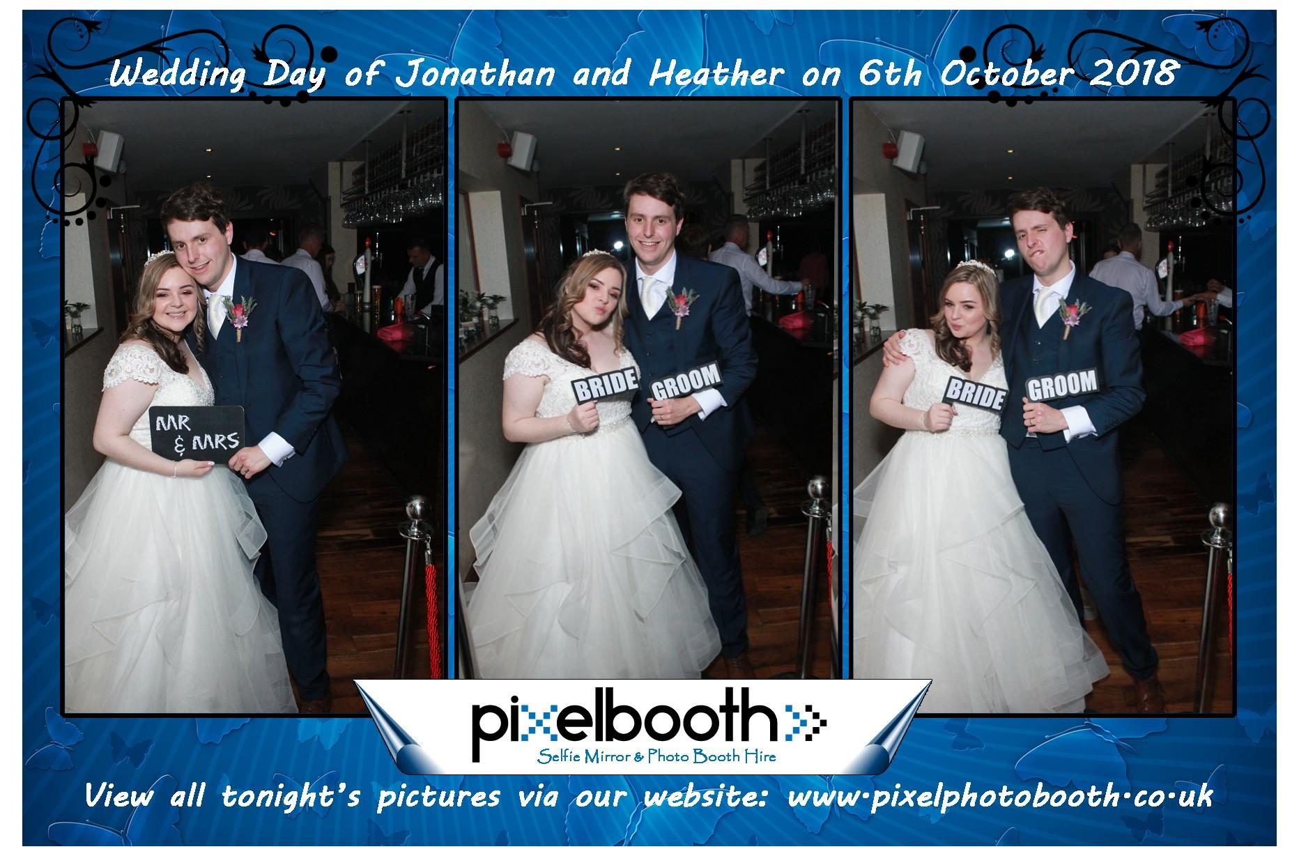6th Oct 2018: Heather and Jonathan's Wedding at Sheldrakes