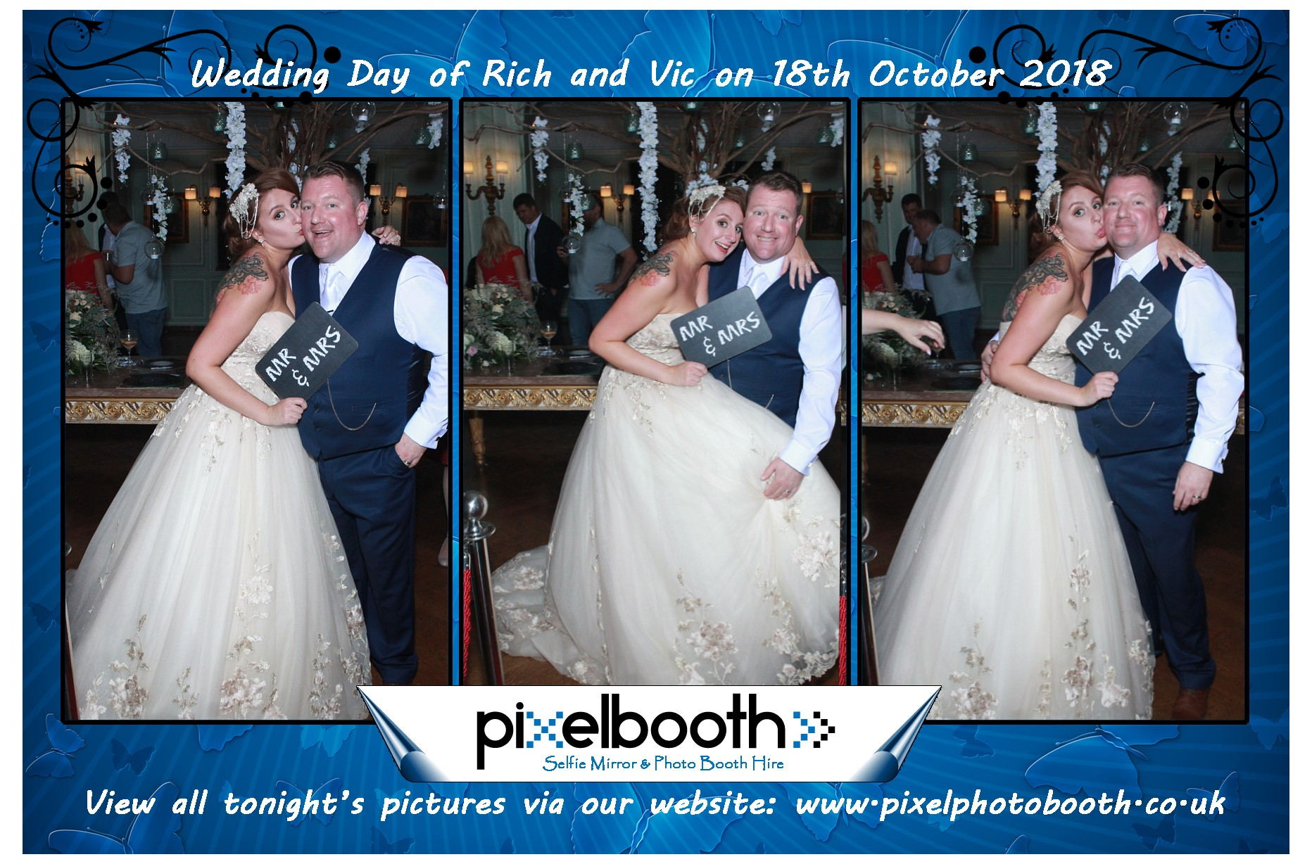 18th Oct 2018: Rich and Vic's Wedding at Thornton Manor