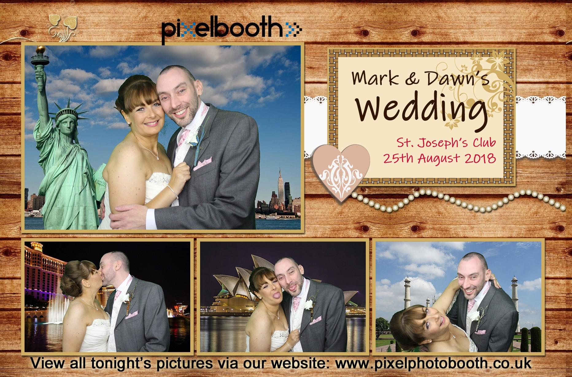 25th Aug 2018: Mark & Dawn's Wedding at St. Joseph's