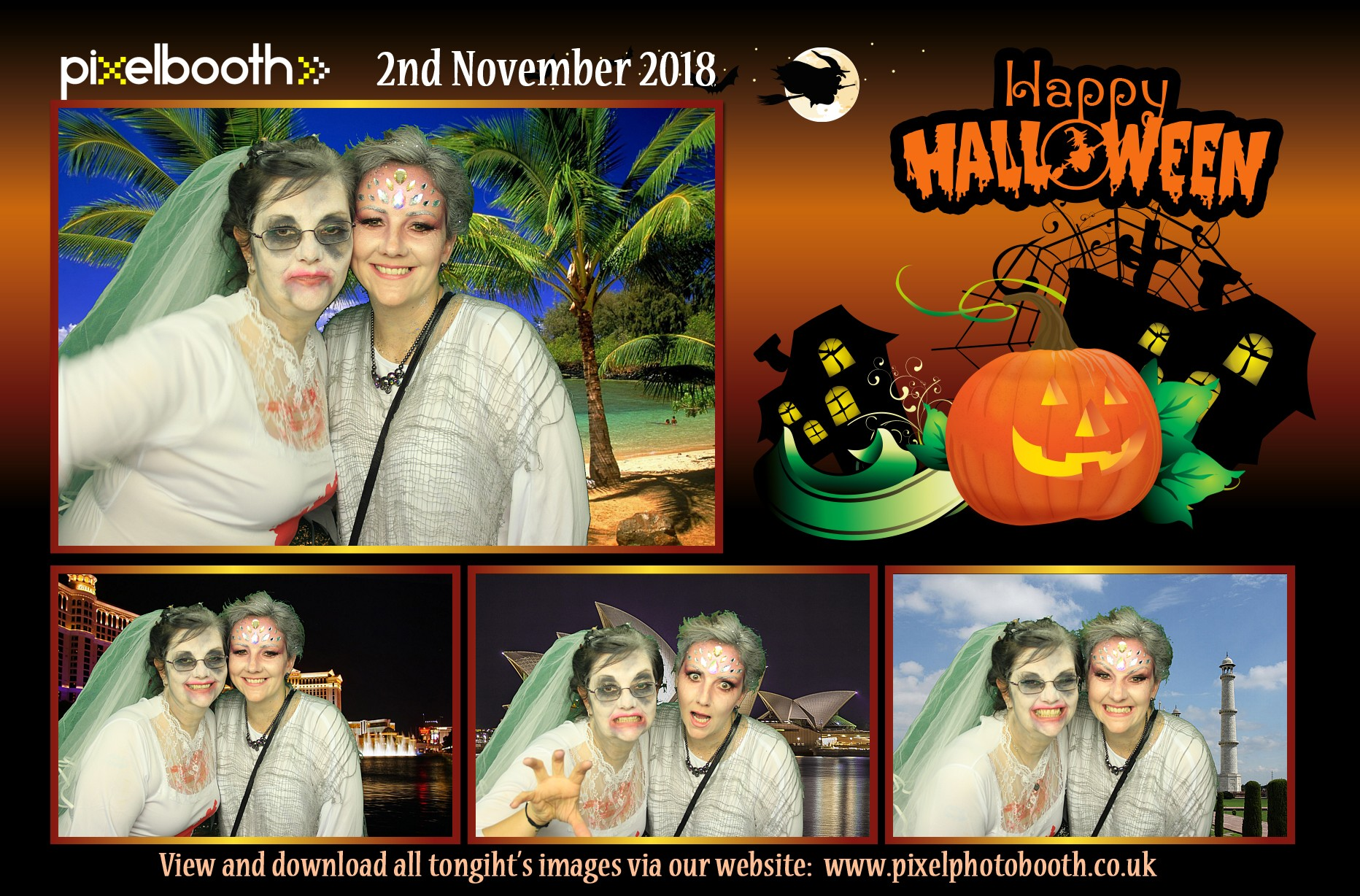 2nd Nov 2018: Halloween / Charity Night at Whitby Social Club