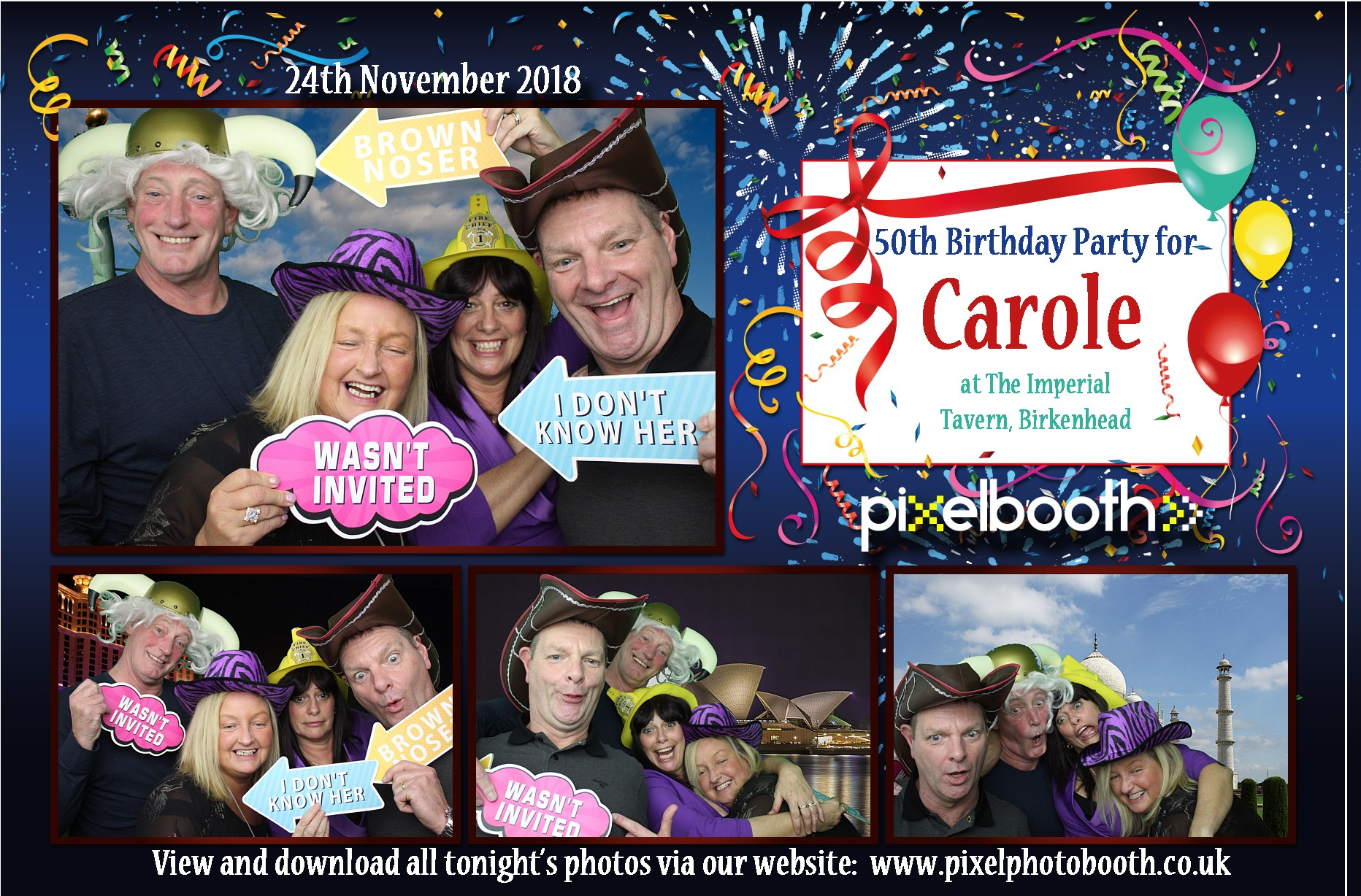 24th Nov 2018: 50th Birthday for Carole at The Imperial Tavern