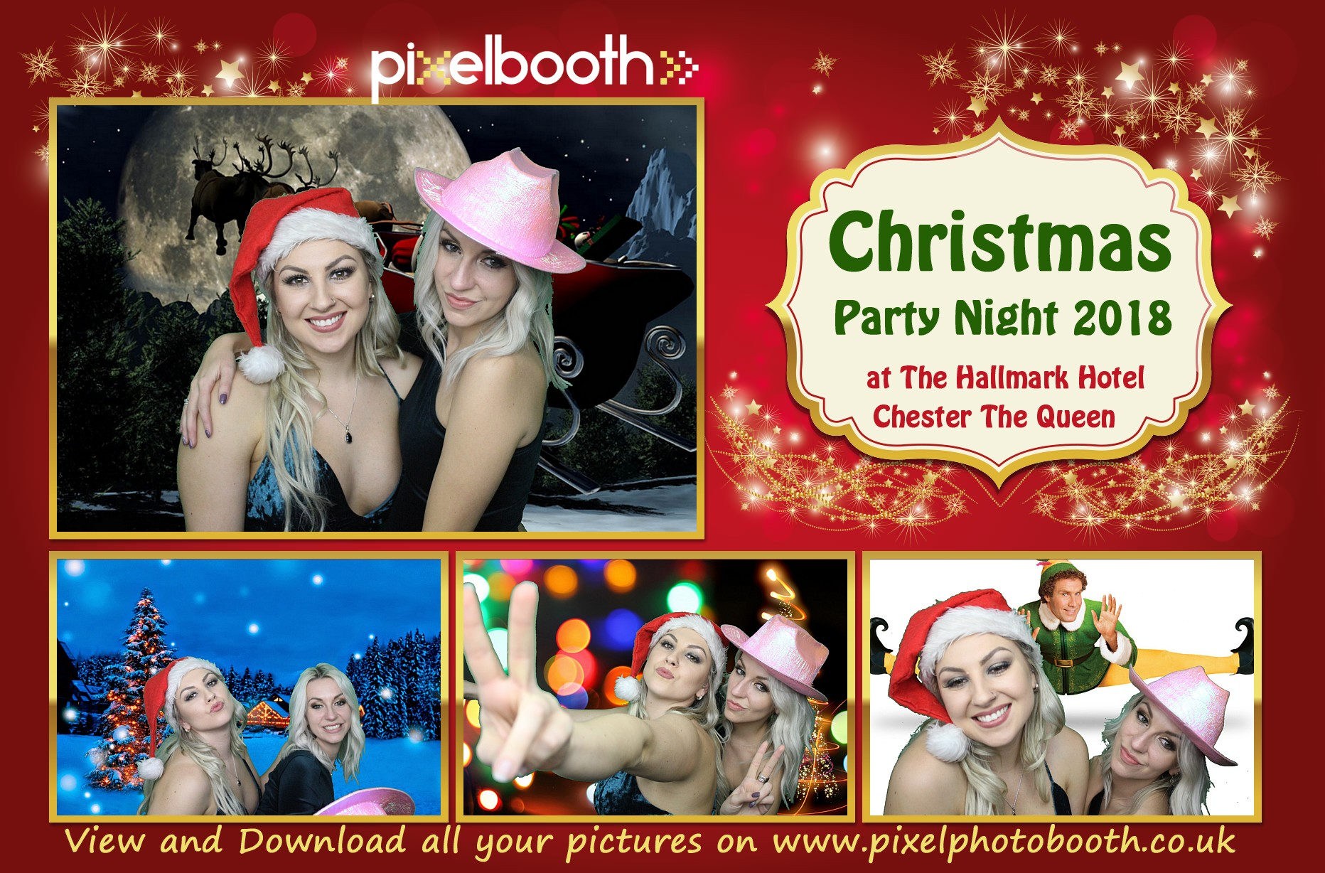 1st Dec 2018: Christmas Party Night at The Queen, Chester