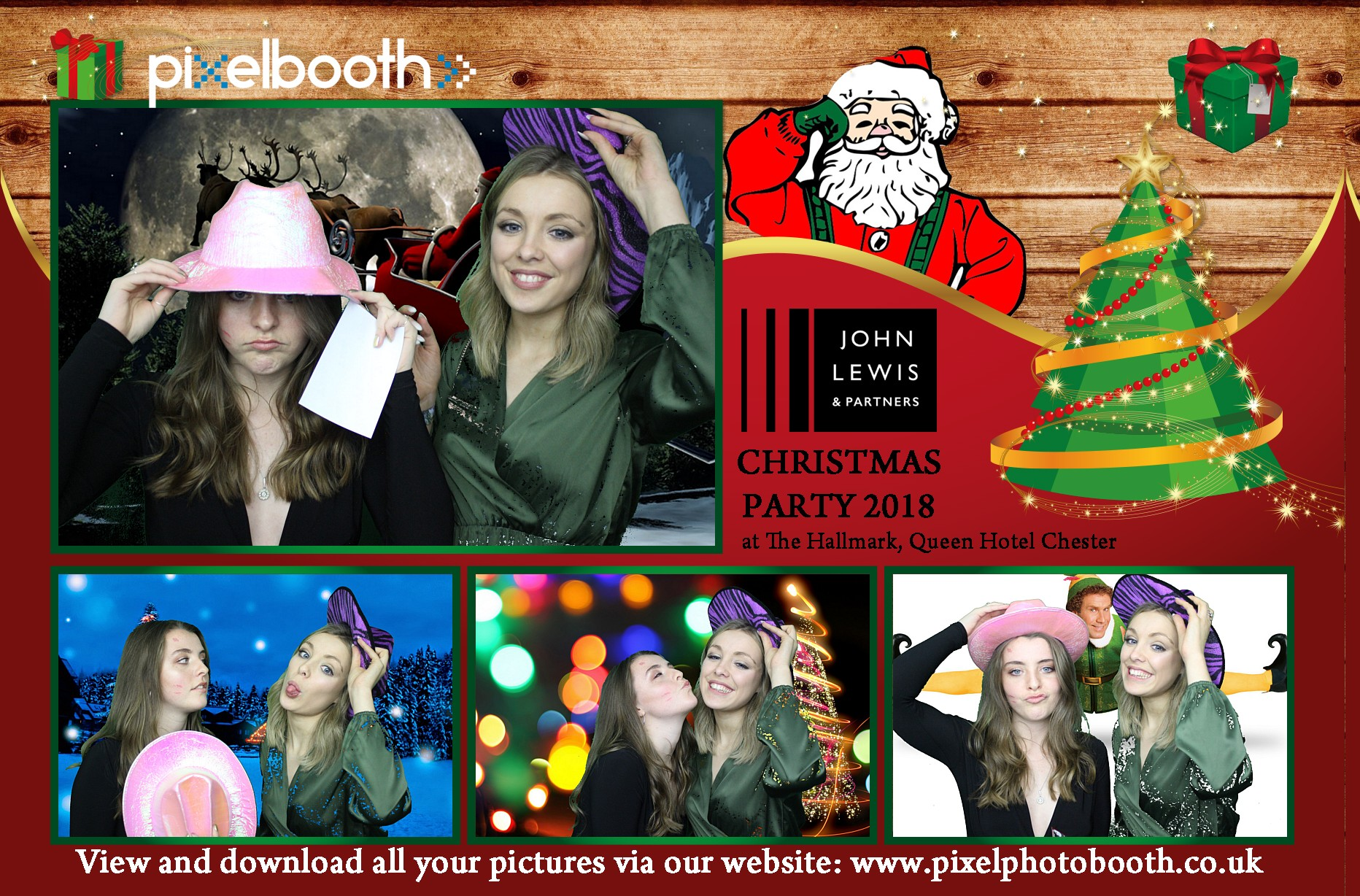2nd Dec 2018: John Lewis Christmas Party at The Queen Hotel