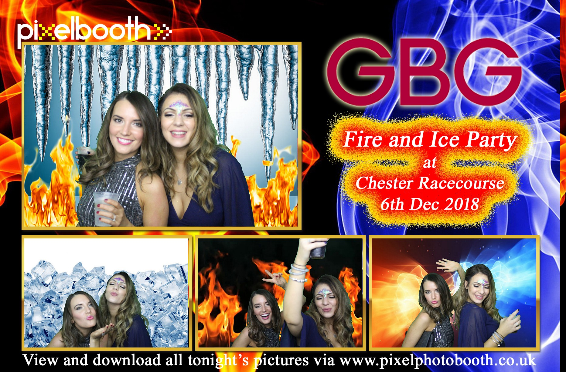 6th Dec 2018: GBG Fire and Ice Party at Chester Racecourse