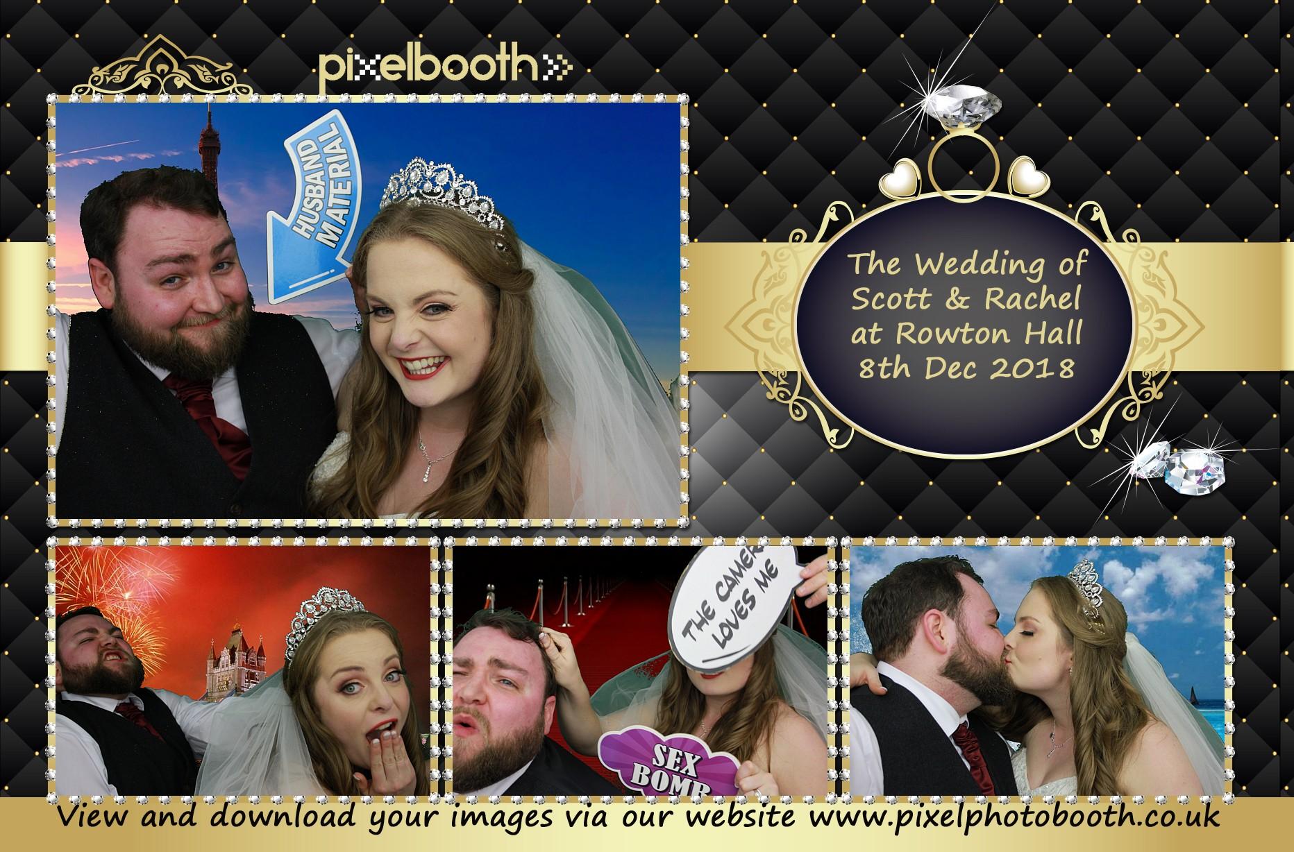 8th Dec 2018: Scott and Rachel's Wedding at Rowton Hall