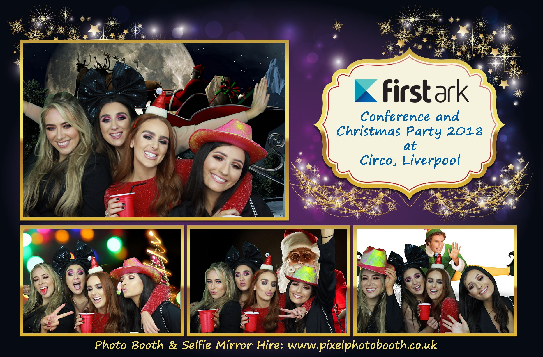 7th Dec 2018: First Ark Party and Conference at Titanic Hotel and Circo