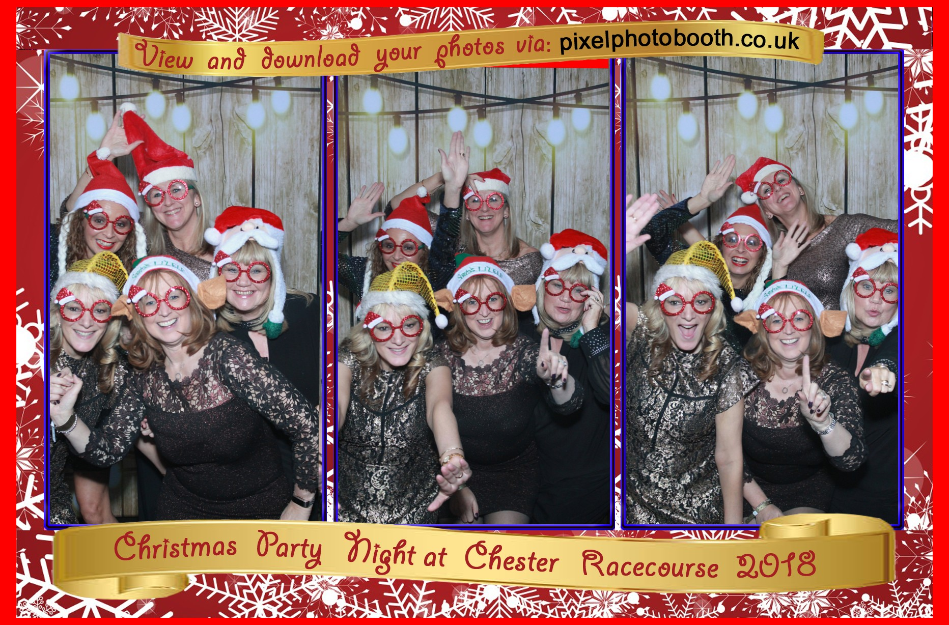 15th Dec 2018: Chester Racecourse Christmas Party Night