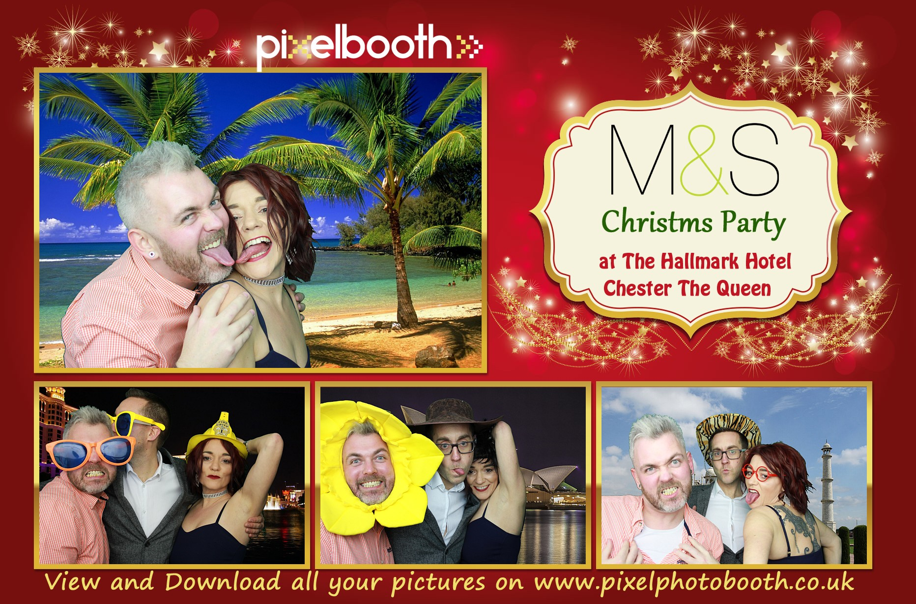19th Jan 2019: M+S Bank Christmas Party at The Queen Hotel