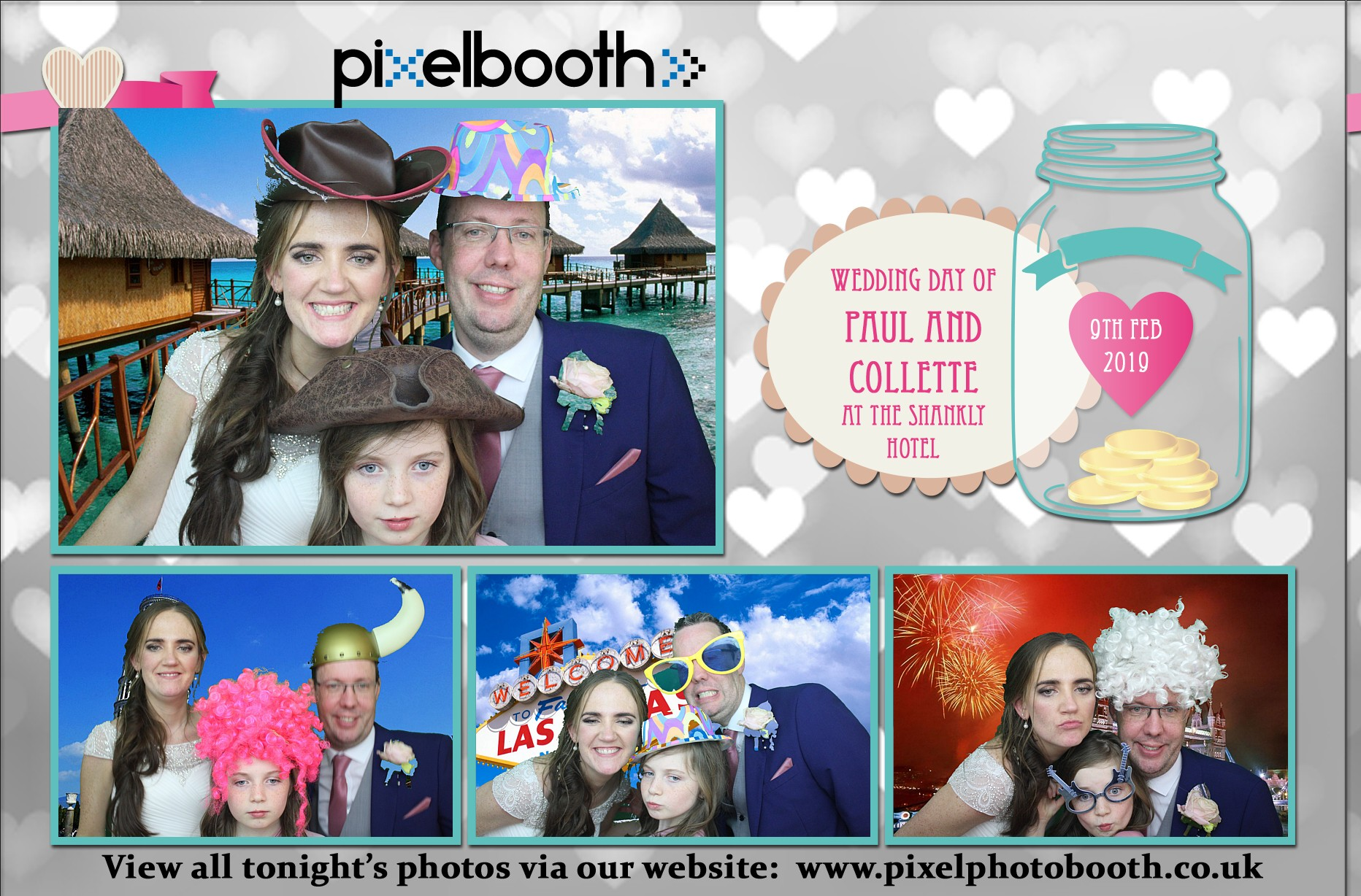 9th Feb 2019: Paul and Collette's Wedding at Bill Shanky Hotel