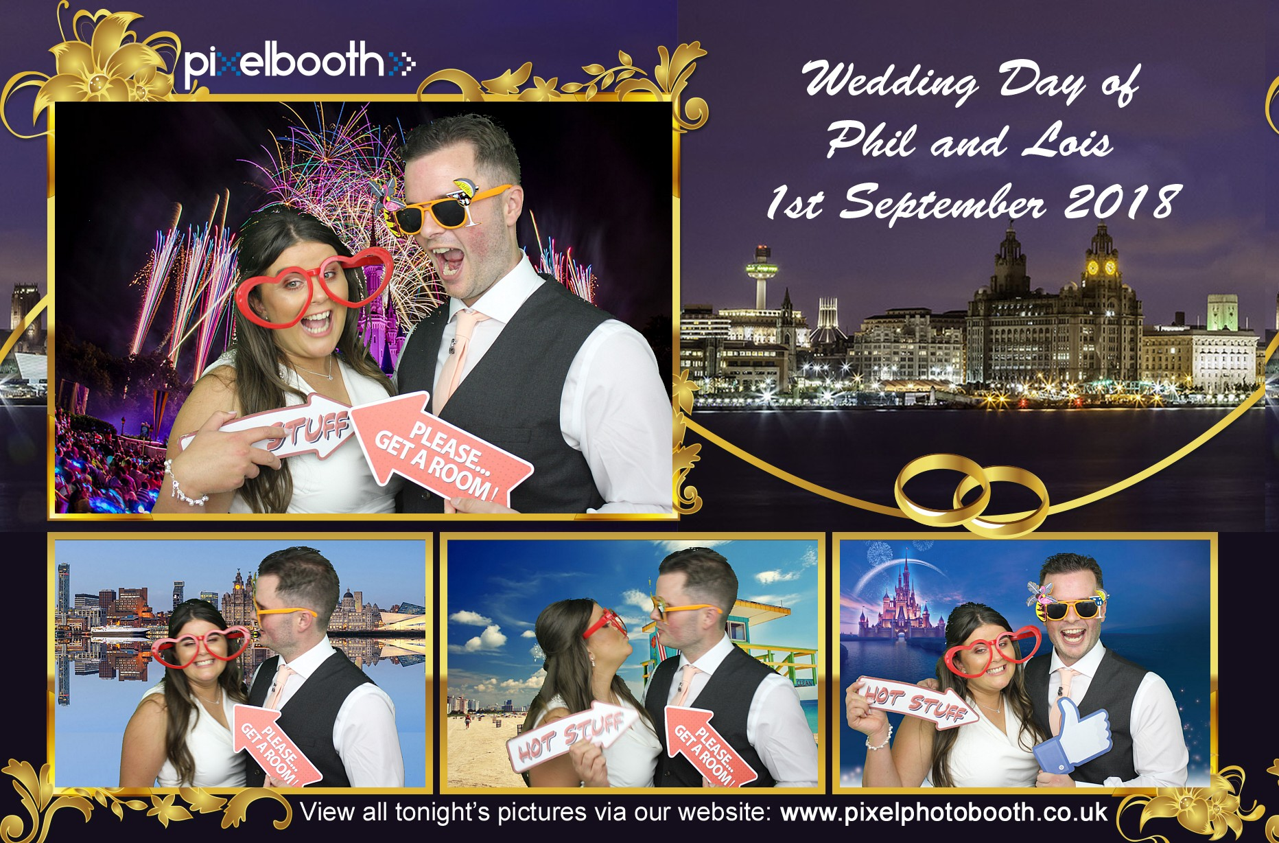1st Sept: Lois & Phil's Wedding at The Crowne Plaza