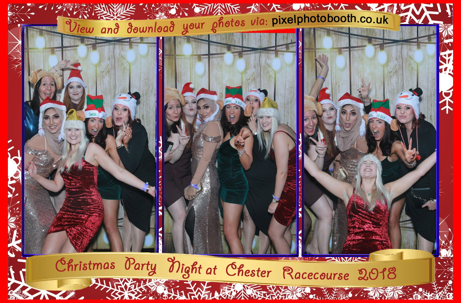 14th Dec 2018: Chester Racecourse Christmas Party Night