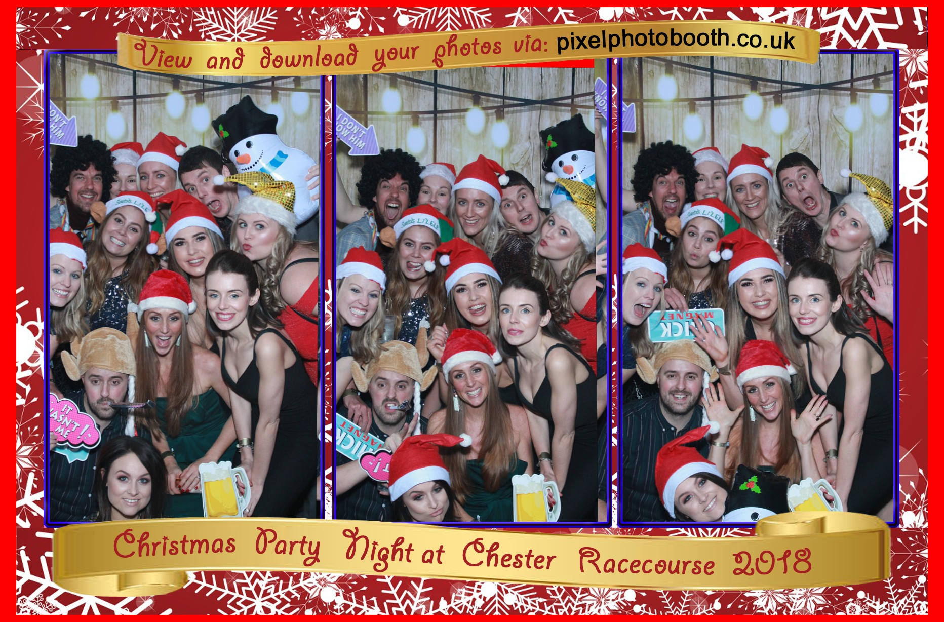 13th Dec 2018: Chester Racecourse Christmas Party Night