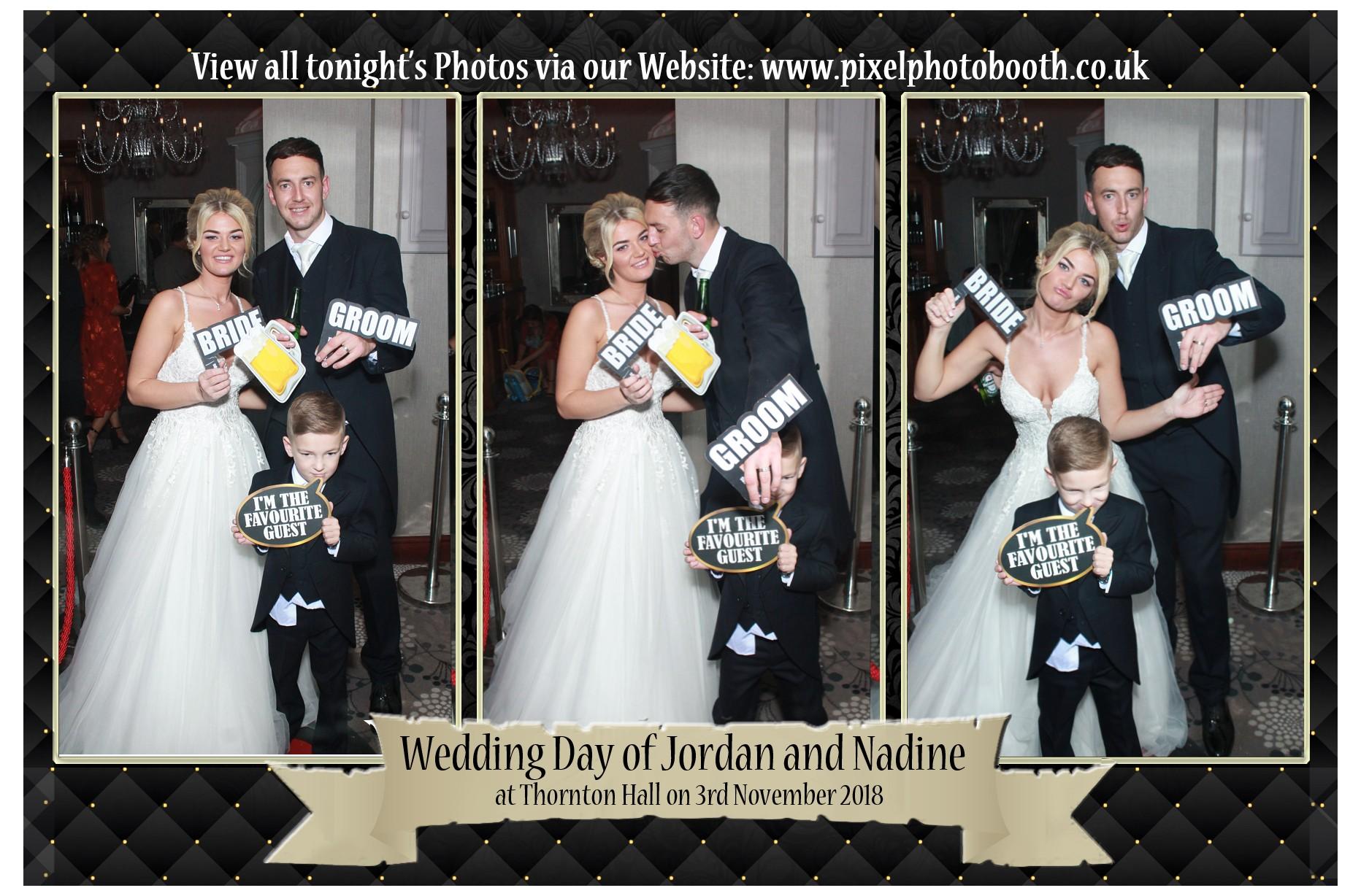 3rd Nov 2018: Jordan and Nadine's Wedding at Thornton Hall Hotel
