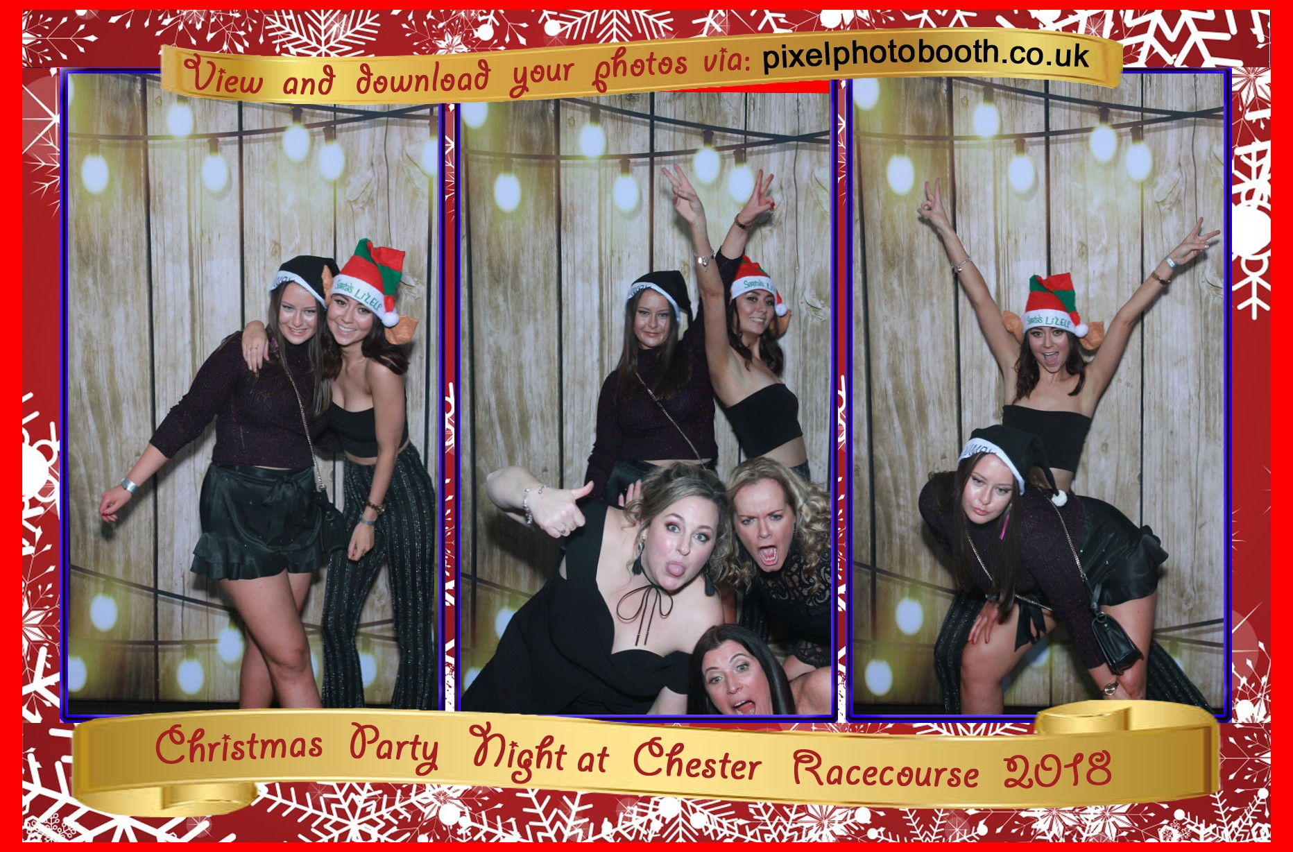 21st Dec 2018: Chester Racecourse Christmas Party night