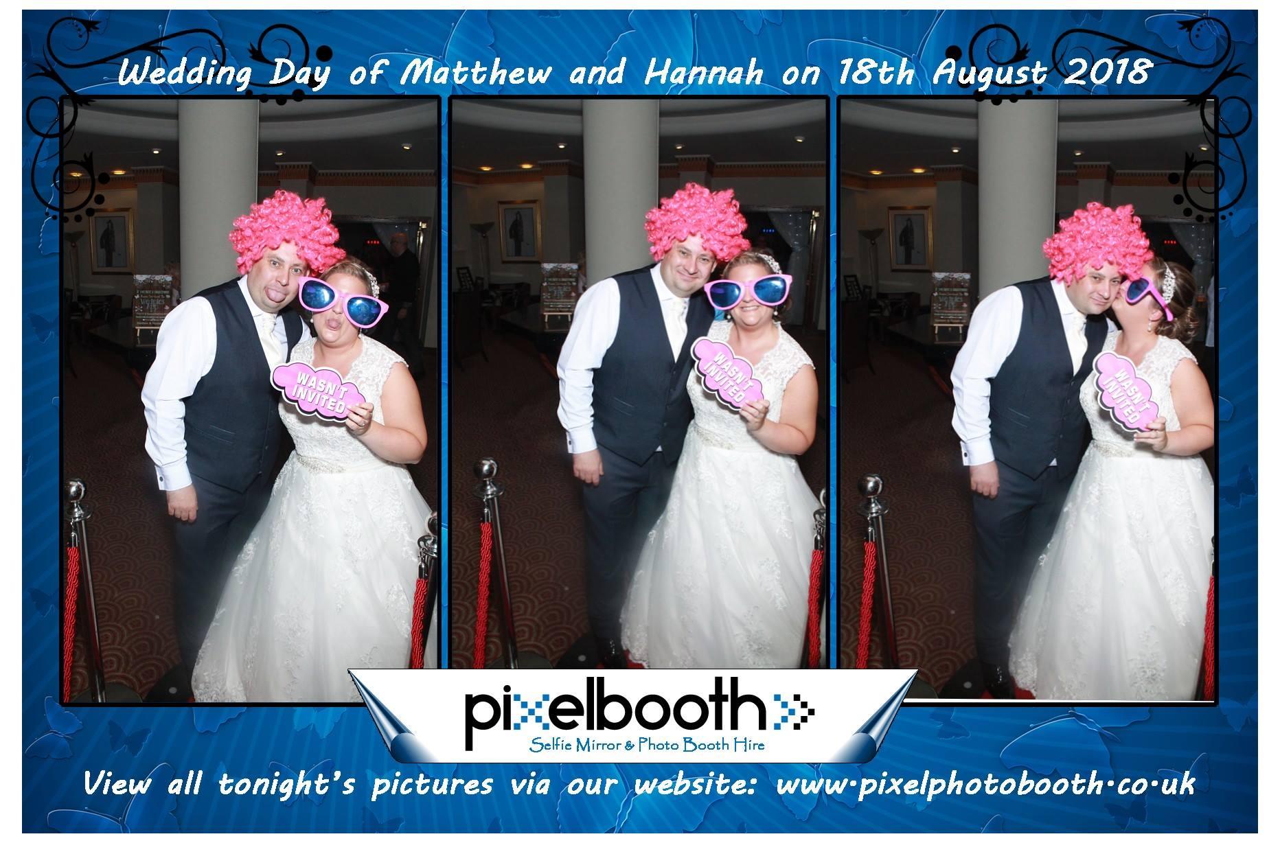 18th Aug 2018: Hannan & Matthew's Wedding at Crowne Plaza.