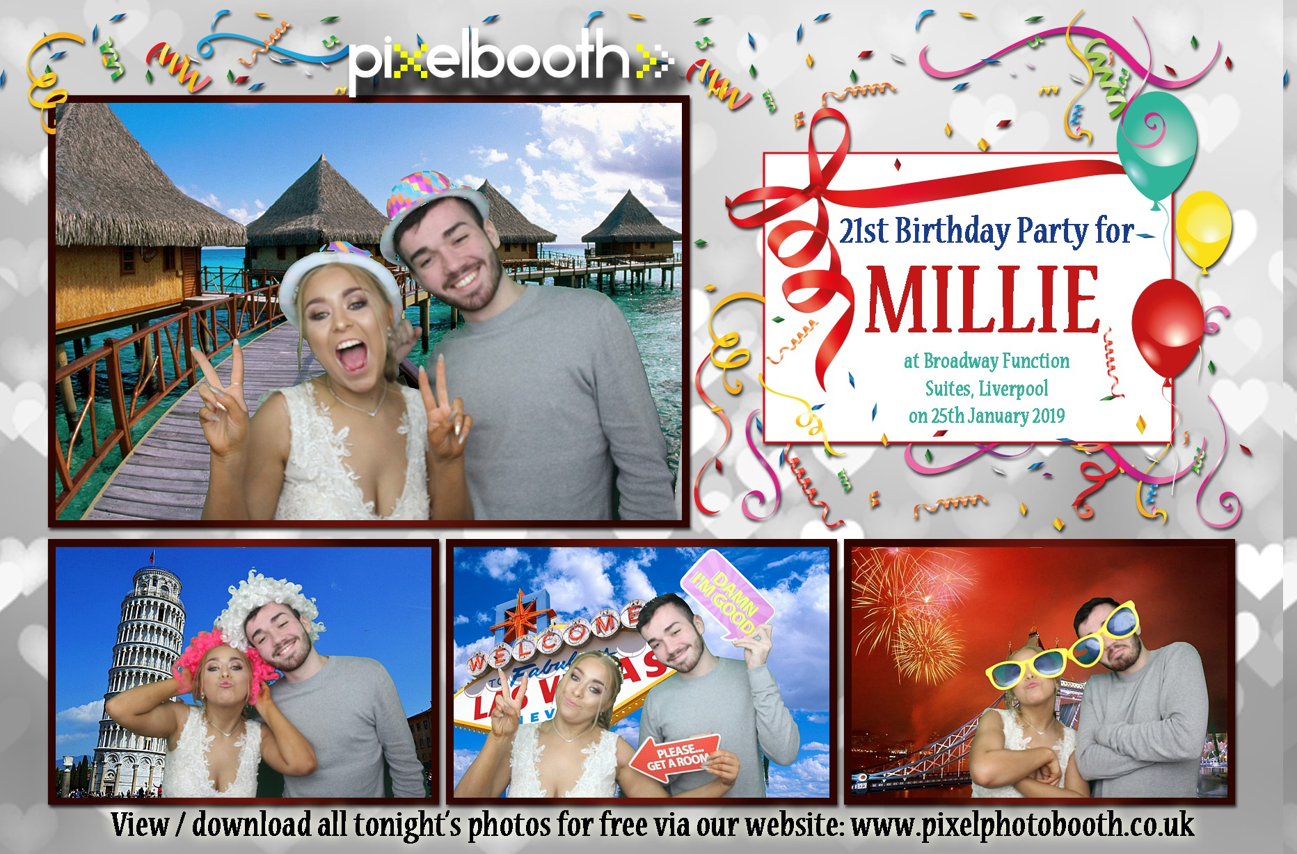 25th Jan 2019: 21st Birthday Party for Millie at Broadway Function Rooms