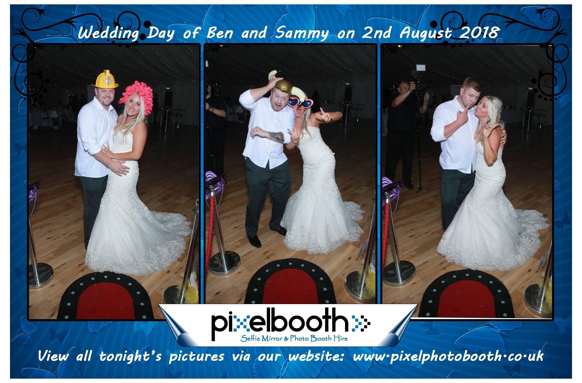 2nd Aug 2018: Ben and Sammy's Wedding at Thornton Manor