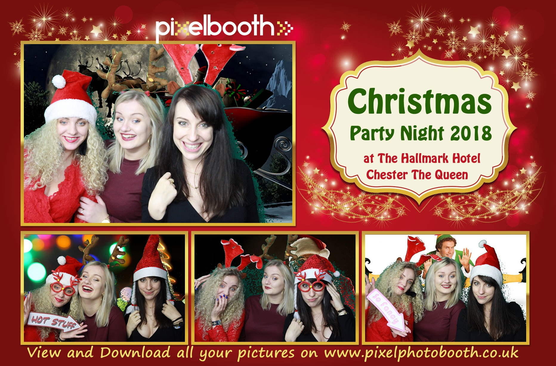 21st Dec 2018: Queen Hotel Christmas Party Night